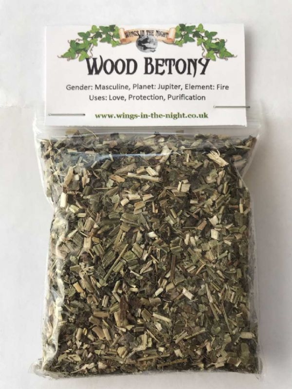 Wood Betony Dried Herb ~ Protection, Purification, Love